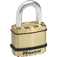 MASTER LOCK Candado Alta Seguridad [Llaves] [Acero Laminado