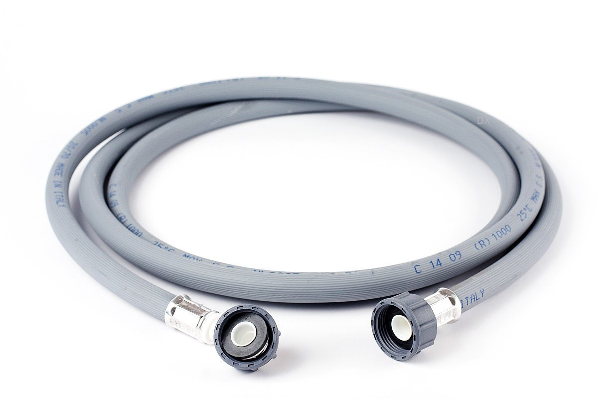 Wpro Accessories//TAF358/Washing Machine Cold Water Inlet Hose Luxe 3.5/m Straight Angled for Washing Machines and Dishwashers//60/Bar 2/Universal Hose Length 2.5 m