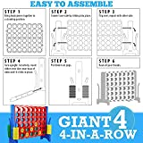 Giant 4 in a Row Connect Game - Storage Carry Bag
