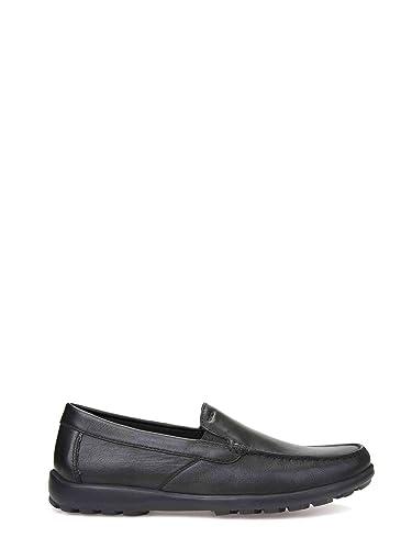 Geox U Romaryc Mocasines Hombre Negro (45): Amazon.es: Zapatos y complementos