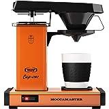 Moccamaster CD orange överflödesmaskin kopp-en kaffebryggare