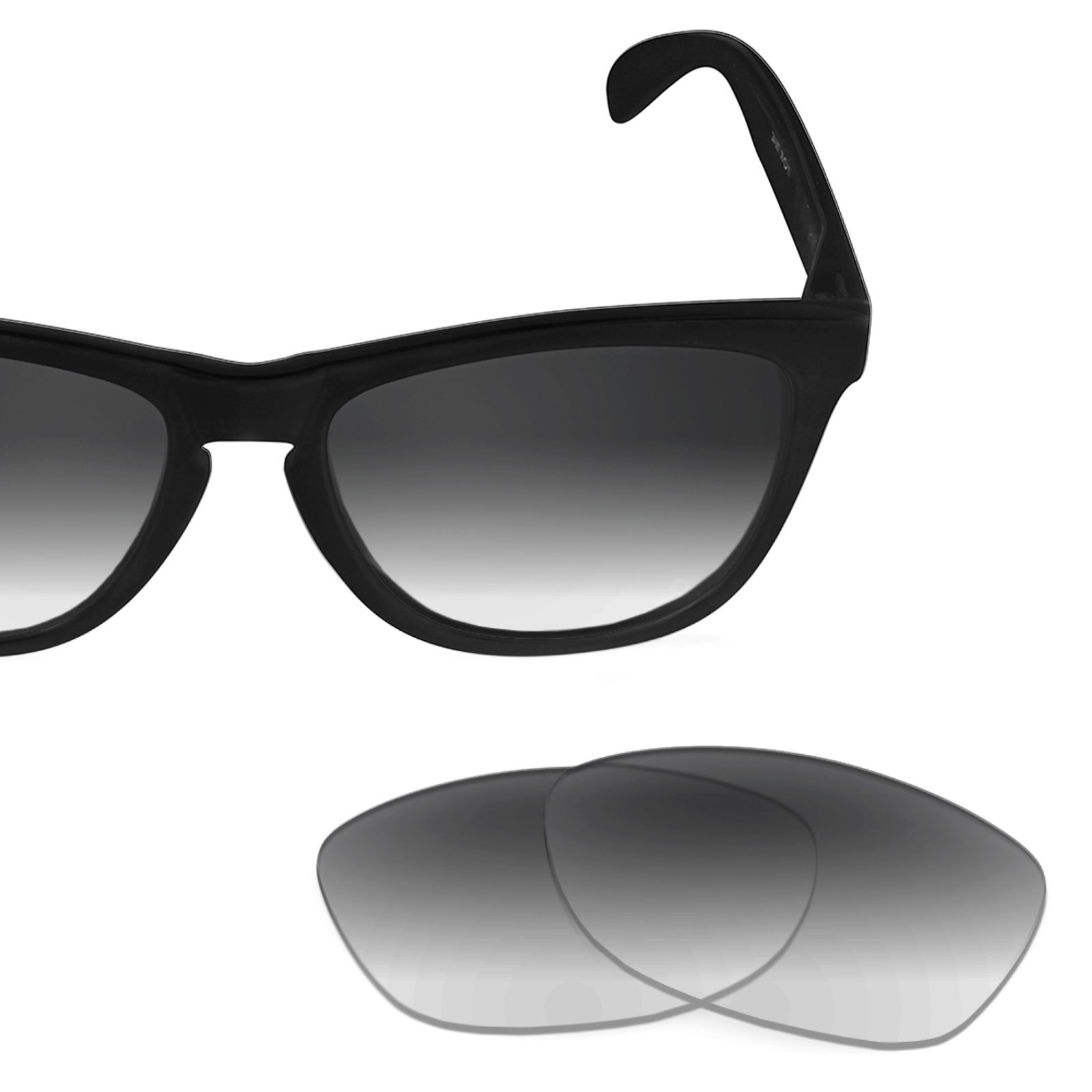 Revant Replacement Lenses for Oakley Frogskins Grey Gradient