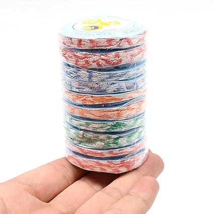 20 toallas de mano de color al azar para viajes, desechables, mágicas, para