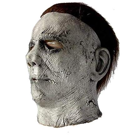 YXRL Cosplay Máscara Horror Arnés Disfraces De Halloween Cabeza ...