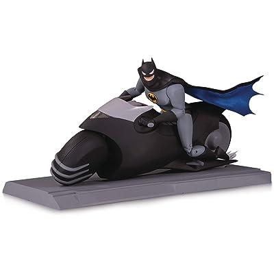 DC Collectibles Batman The Animated Series: Batcycle & Batman Action Figure Set: Toys & Games