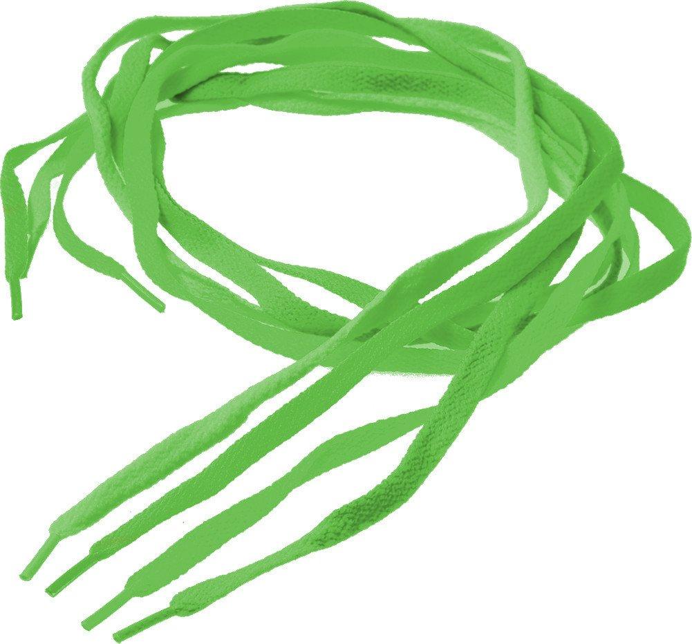 Bright Neon Green 38'' Retro 80s Rave Costume Shoe Laces
