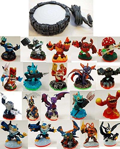 20 x Skylanders Adventures Giants Swap Force Trap Team Character Figure Pack Lot + Xbox 360 Game (Xbox 360 Skylanders Giants Game)