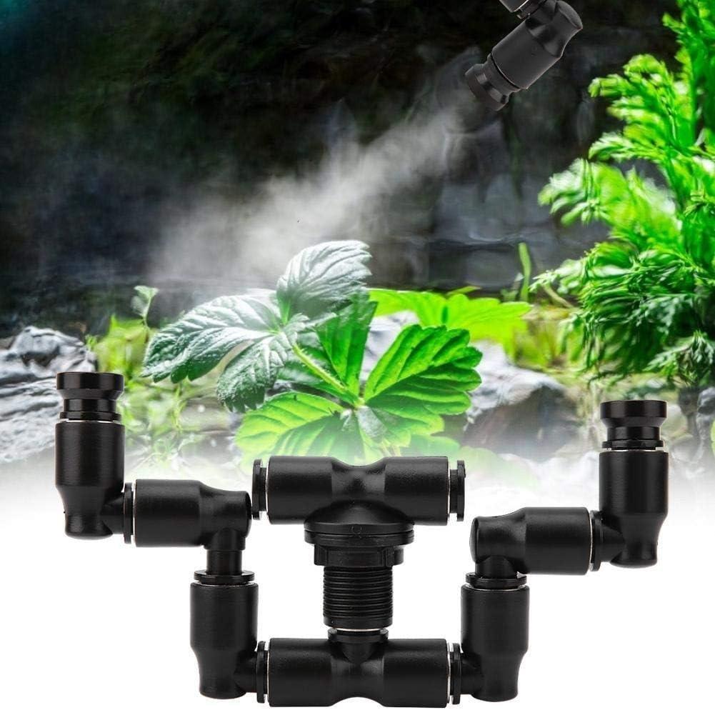 KSTE I rettili Fogger Mist spruzzatore Rainforest Serbatoio 360 Regolabile Acquario Sistema Connect 1//4  idromassaggio