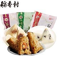稻香村小枣粽子豆沙粽子鲜肉粽660g 端午粽子中华老字号