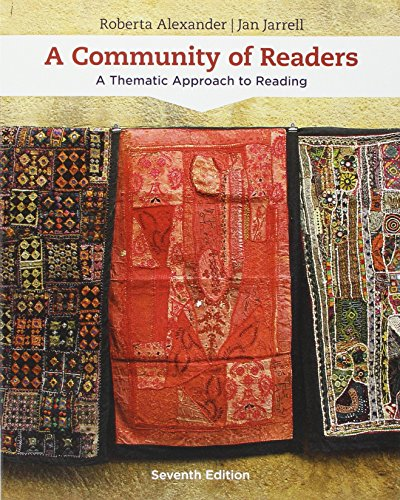 Bundle: A Community of Readers: A Thematic Approach to Reading, 7th + Aplia no eBook Printed Access Card