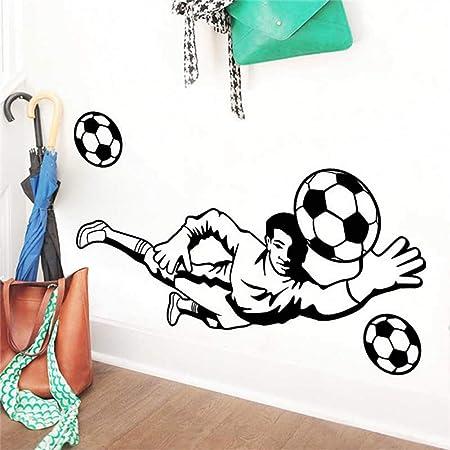 YRHT Etiqueta de la Pared Dibujos Animados de fútbol balón de ...