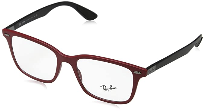 55288a2b7ac Image Unavailable. Image not available for. Colour  Ray-Ban Men s 0RX 7144  5772 53 Optical Frames ...