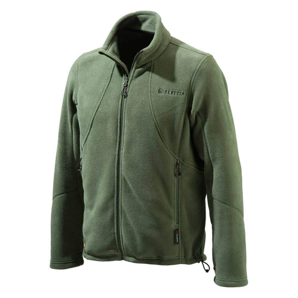 BERETTA Maglione Uomo Polartec Jkt SMU Rosin Green Poliestere 100,00/% C.D 61043300
