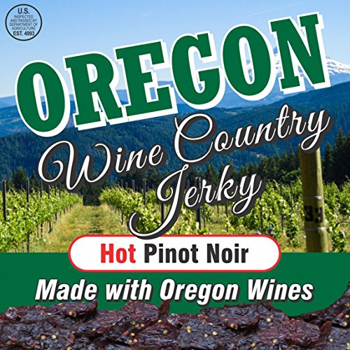Oregon Wine Country Jerky – (Pinot Noir Hot)