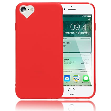 custodia iphone 8 cuore