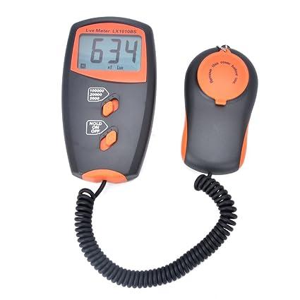 Medidor de luz de mano Medidor digital de lux LX1010BS medición de luz Rango: 1