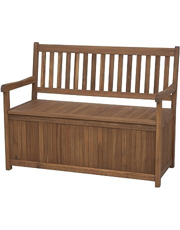 Siena Garden 800520 Melton - Banco (madera de acacia y acero galvanizado, 2 plazas