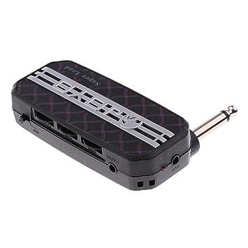 Baoblaze Mini Amplificadores de Guitarras Eléctricas Amplificados - Negro Lead, como se describe: Amazon.es: Instrumentos musicales