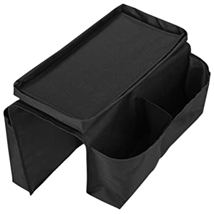 Amazoncom Sofa Armrest Organizer With Cup Holder Tray 6 Pockets Tv
