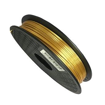 Filamento de impresora 3D PLA 1,75 mm dorado sedoso – Silk Gold ...
