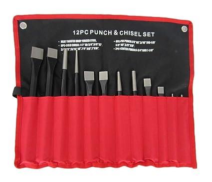 Stanley 418299 Punch Et Chisel Set 12 pieces