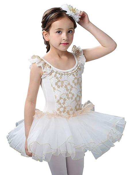 TAAMBAB Niñas Vestido de Baile Clásica Ballet de Danza ...