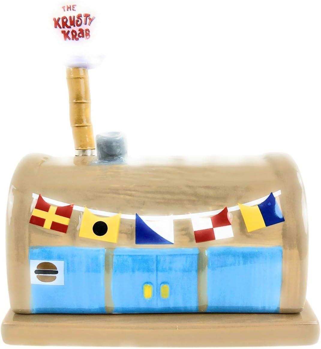 Sponge Bob Squarepants - Krusty Krab Ceramic Butterdish