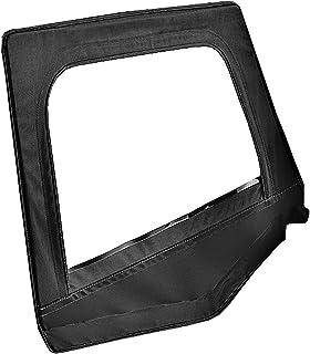 Bestop 53120-15 Black Denim Fabric Replacement Upper Door Skin Set for 88-95  sc 1 st  Amazon.com & Amazon.com: Rampage Products 89615 Denim Black Replacement Door Skin ...