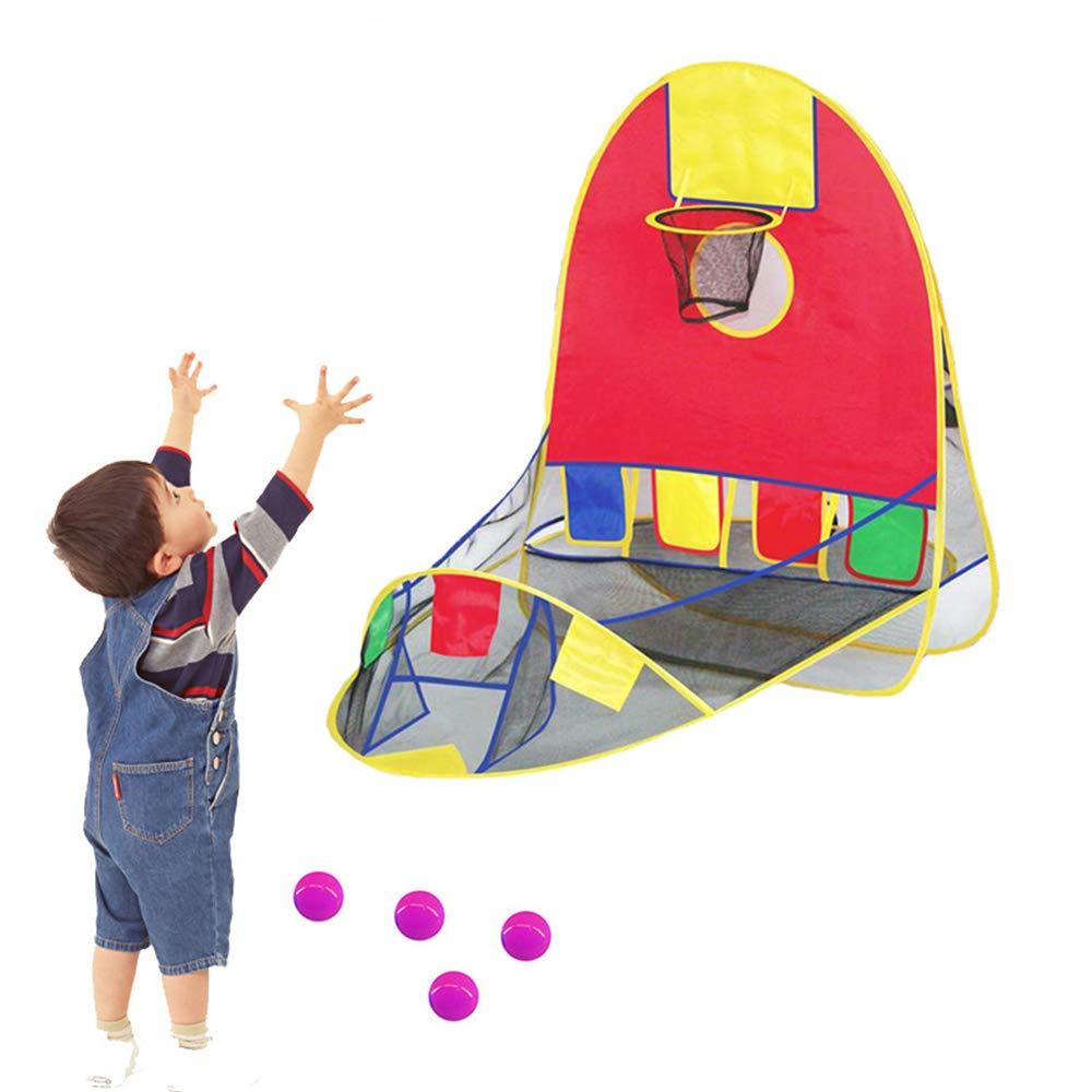 DUCKTOYS Kids Play Zelt, Pop-up-Play-Zelt mit Basketball-Ball Basketball-Ball Basketball-Ball Pit Spielen Basketball,110 * 107cm-für Home & Garden cfd2d4