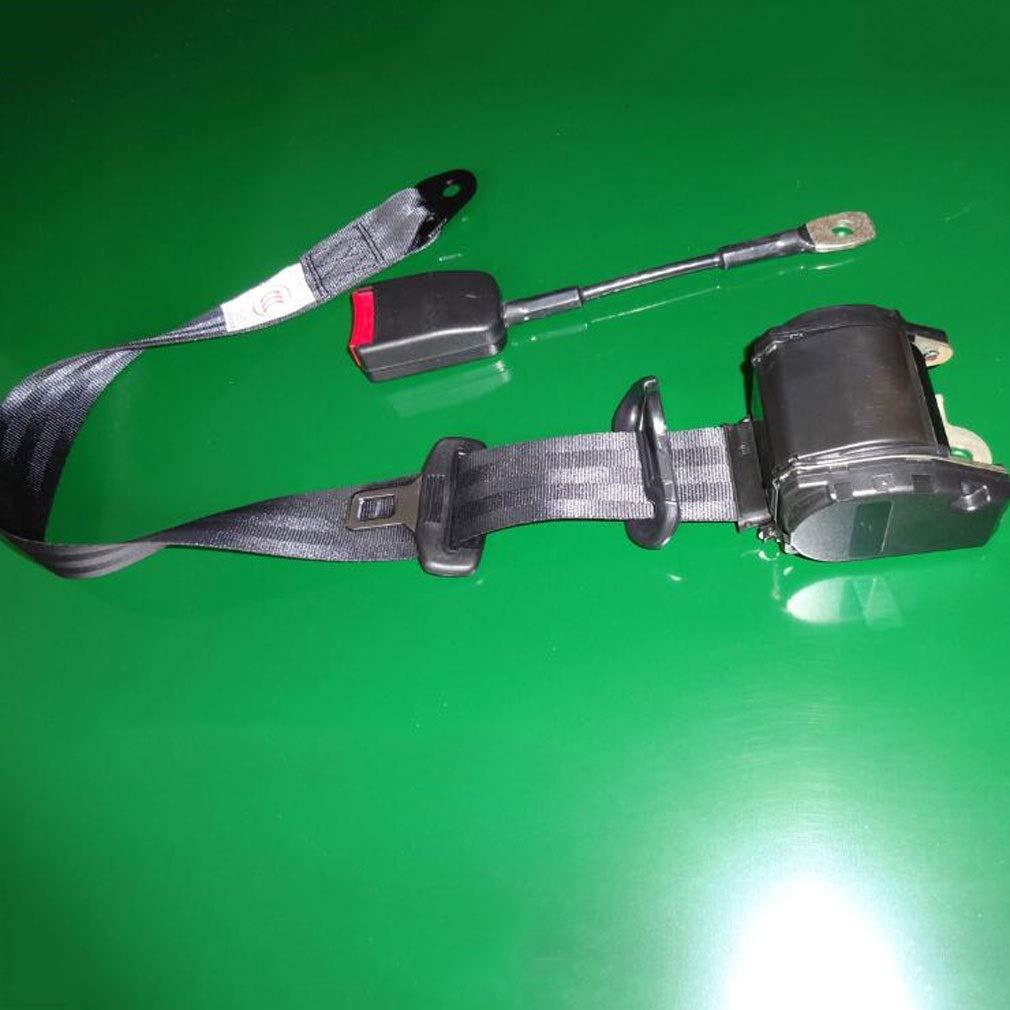 CCZ Three-Point Emergency Locking Seat Belt, Car Seat Belt Safety Belt, Three-Point Retractable Seat Belt by CCZ