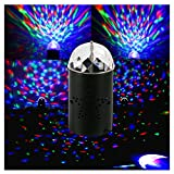 DJ Lights Disco Ball Lamps Stage Laser Light for KTV Club RGB 6w Dacuan(Black)