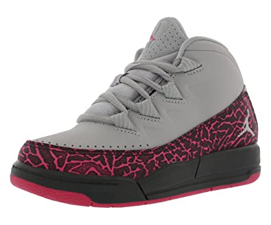 bb1346382825 Nike Air Jordan Deluxe PS Wolf Grey Vivid Pink Anthracite 807715-060 US  10.5C