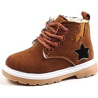 ❤️ Botas de Terciopelo para bebé, bebé niños Warm Boys Girls Sneaker Botas niños bebé Zapatos de Nieve Ocasionales Absolute