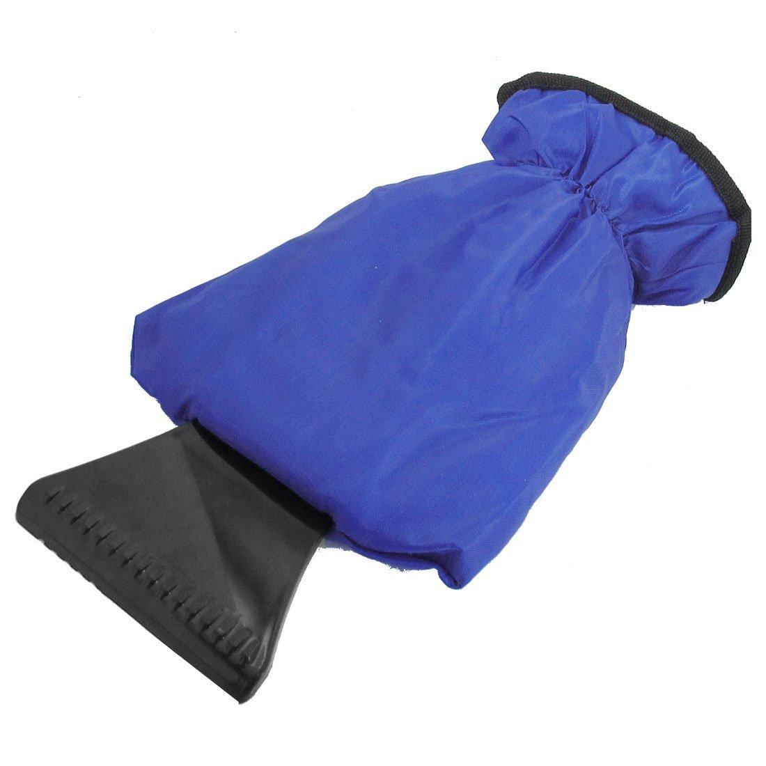 pala neve Guanto - TOOGOO(R) Veicolo Finestra del parabrezza dell'automobile Raschiaghiaccio Neve Guanto Blu Nero SHOMAGT24294