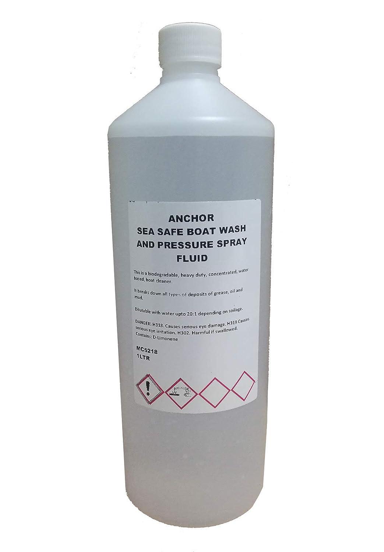 Anchor Sea Safe Spray líquido de lavado y presión para barcos ...