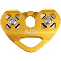 Magicdeal Climbing Rock 30kN Heavy Duty Zip Line Cable Trolley Fast Speed Pulley