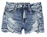 American Eagle Women's Hi-Rise Shortie Shorts W-23 (4, 5011)
