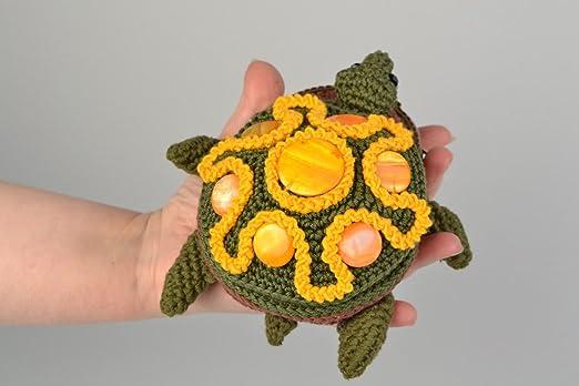 Amazon.com: Handmade Crocheted Soft Cotton Handmade Colorful ...