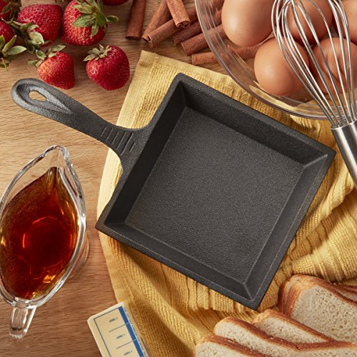 CasaModa 5178396 Mini Fry Pan, Small, Mini Square Fry Pan