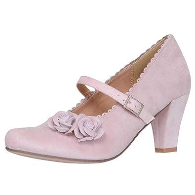Trachten Pilsensee Damen Pumps Rosa Dirndl Schuhe In Hirschkogel PkX8n0wO