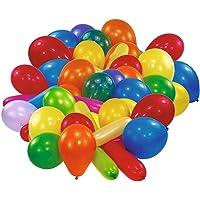 amscan 9196 Latex ballonnen vormen en kleuren, diverse kleuren