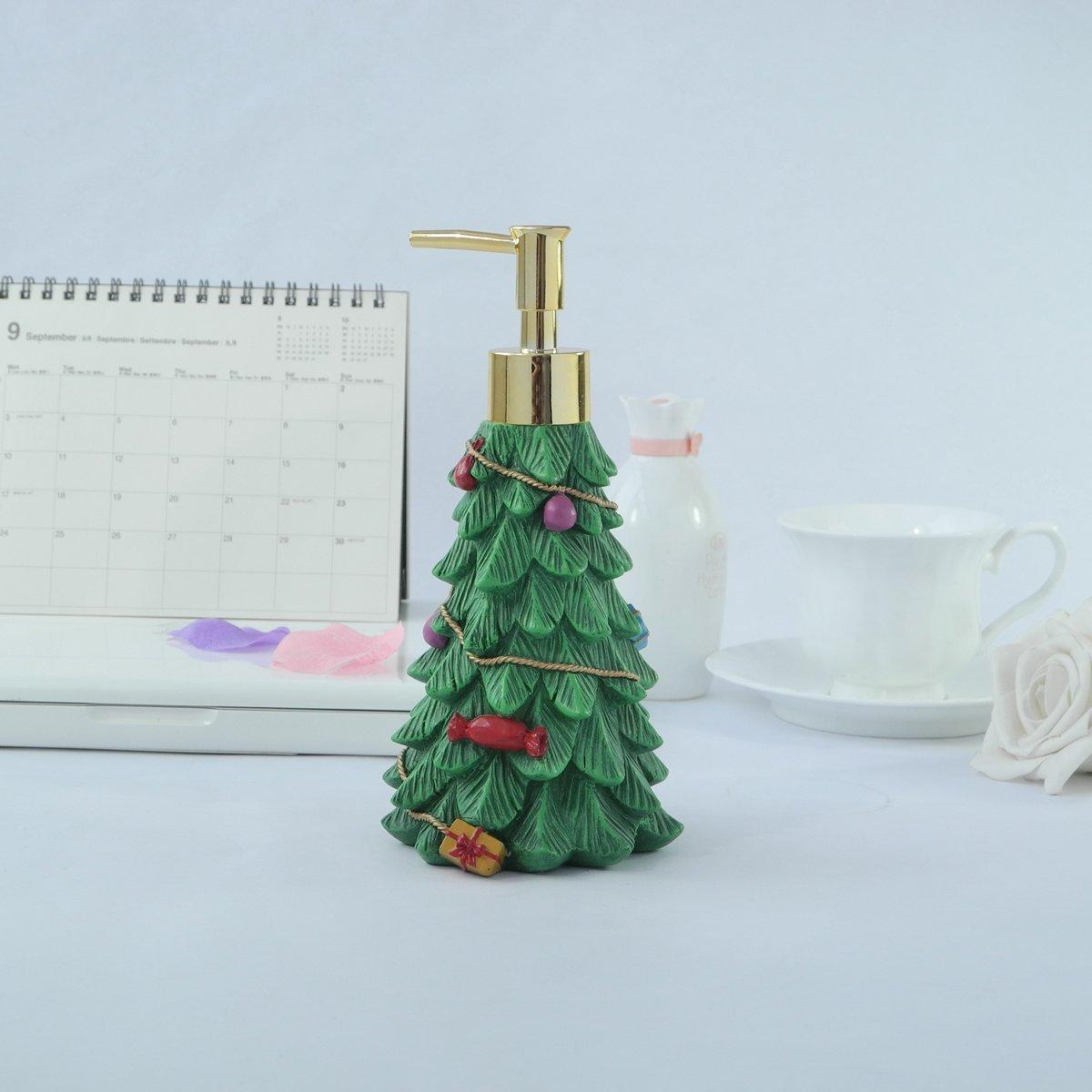 Dispensador de jabón de baño Dream árbol de Navidad/dispensador de loción capilar: Amazon.es: Hogar