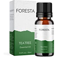 Foresta Naturals Tea Tree Essential Oil 15 ML For Skin and Hair, Acne, Dandruff, Scars, Infections