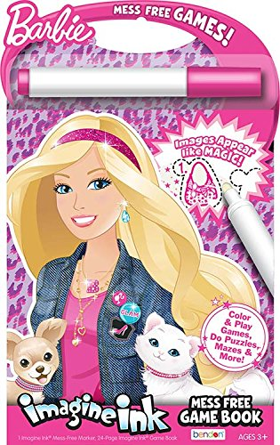 bendon inc barbie imagine ink mess free game book - Imagine Ink Coloring Book