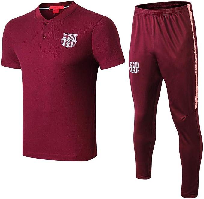 Camiseta de Manga Corta y pantalón de fútbol Uniformes de Equipos ...