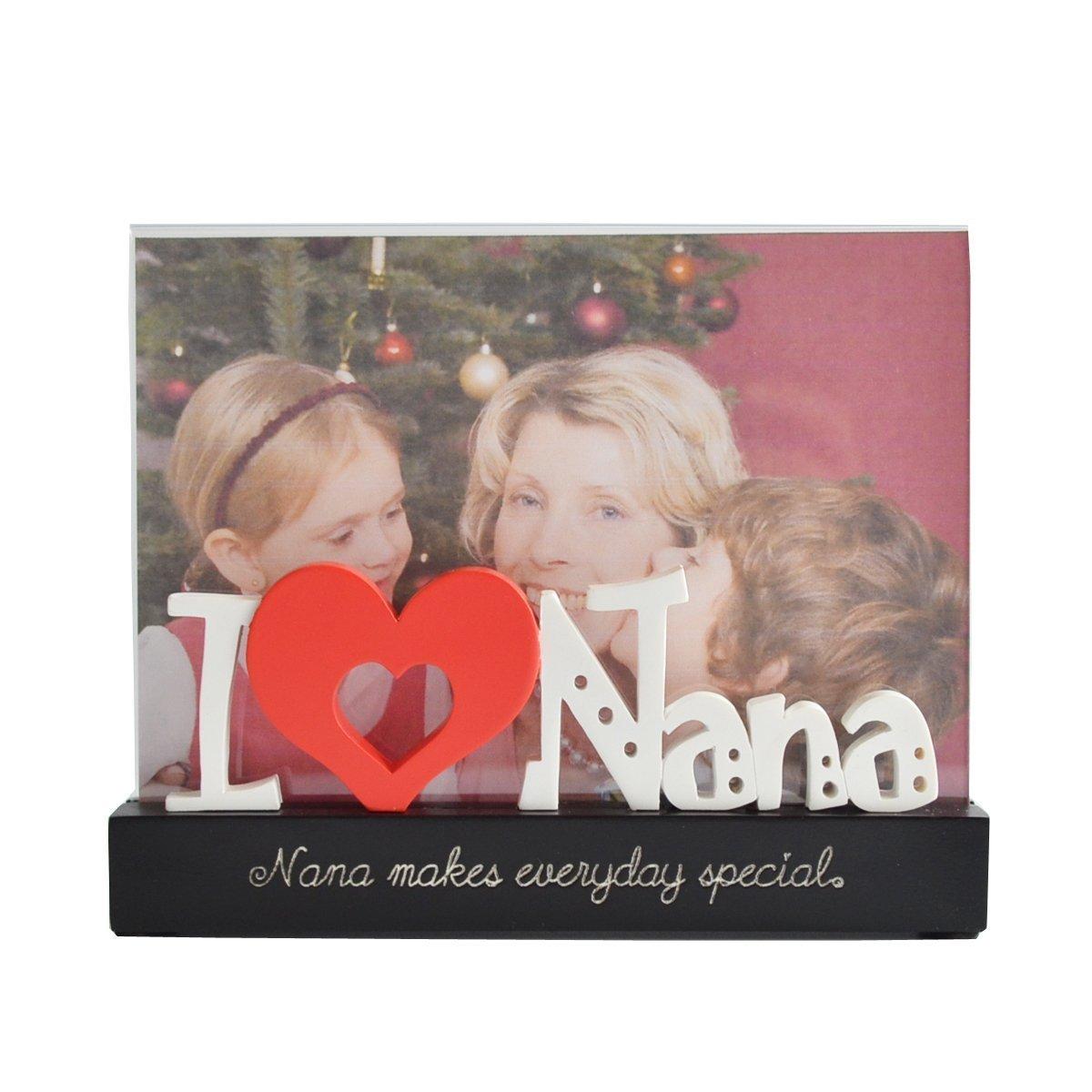 Giftgarden 13x18 Bilderrahmen mit I Love Nana-Buchstabe Geschenke ...