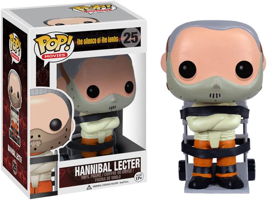 POP! Vinilo - Movies: Hannibal Lecter: Funko Wacky Wobbler: Amazon.es: Juguetes y juegos