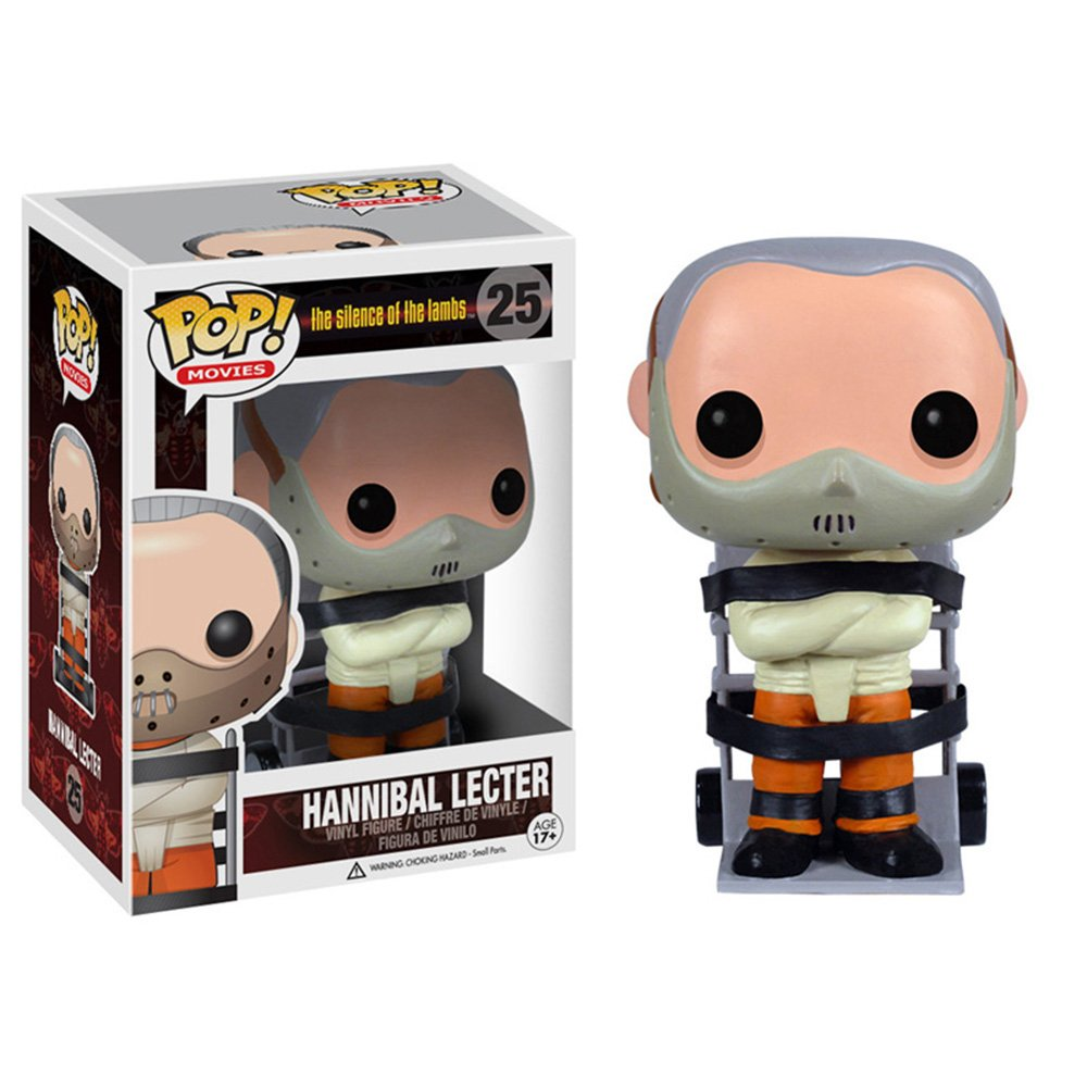 Funko Pop Movies-Hannibal Vinyl Figure Funko Wacky Wobbler 3115 Misc. Product