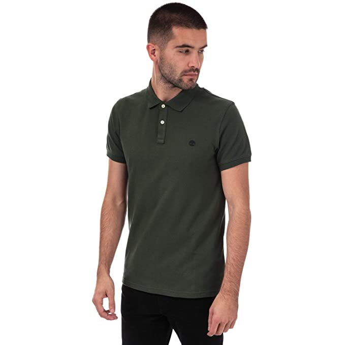 Timberland Miller Rivers - Polo para Hombre, Color Caqui: Amazon ...