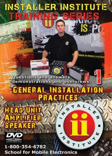 Installer Institute Training DVD 1 - General Installation Practices - 63 minutes (INS-VIDEO1-N) Installation Training